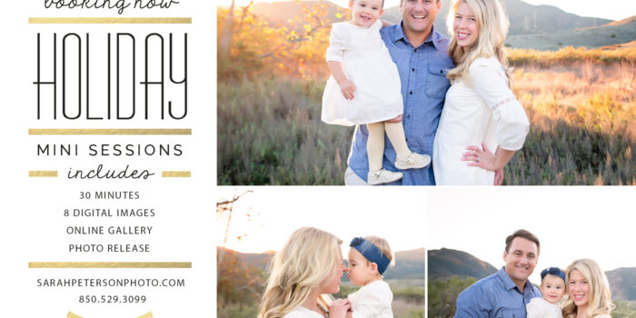Fall Family Holiday Mini Sessions | Newport Rhode Island Photographer | Sarah Peterson Photography