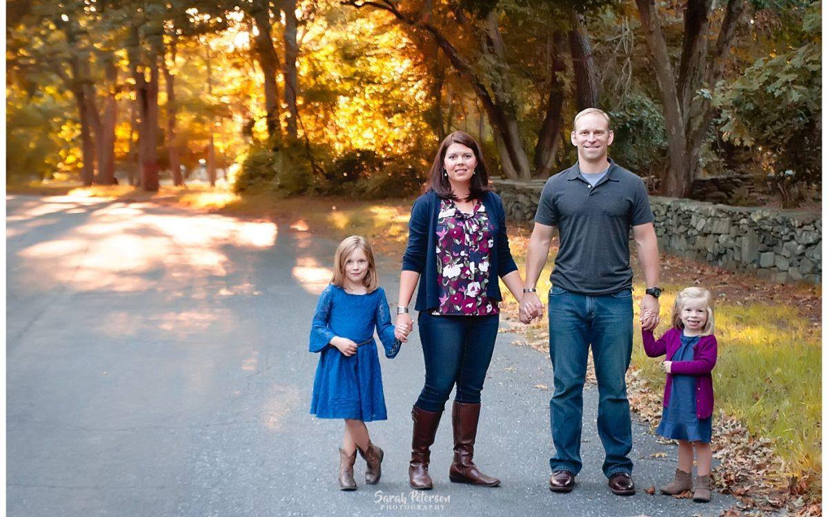 Outdoor Fall Portraits | Newport RI Family Photography | Child Photographer