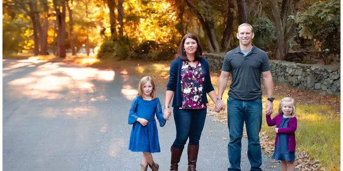 Outdoor Fall Portraits | Newport RI Family Photography | Child Photographer