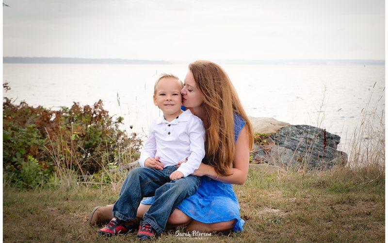 Newport RI Photography | Super Fun Family of 6 | Beach Photographer