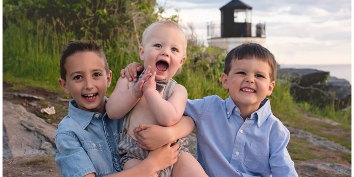 Oh Boy {Family Birthday Session at Castle Hill Lighthouse}